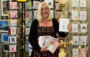 Brindleyplace Moments winner Linda Guest