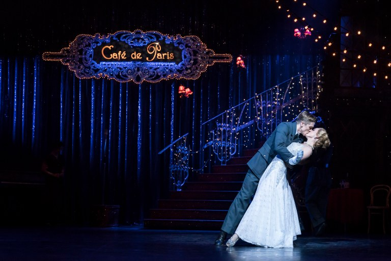 Andrew Monaghan 'Harry' and Ashley Shaw 'Cinderella' Photo by Johan Persson